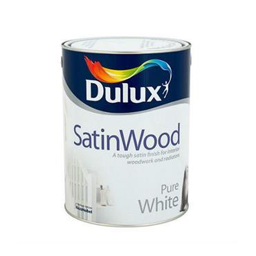 Dulux 750ml Satinwood - Brillant White | 5084304