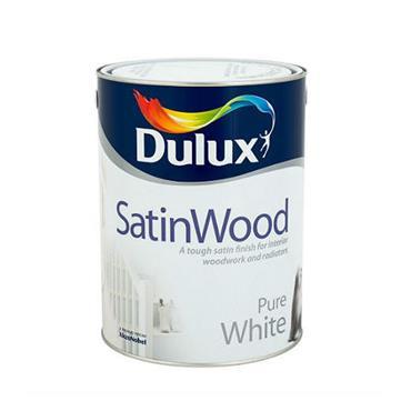 Dulux 2.5 Litre Satinwood - Brillant White   5084302