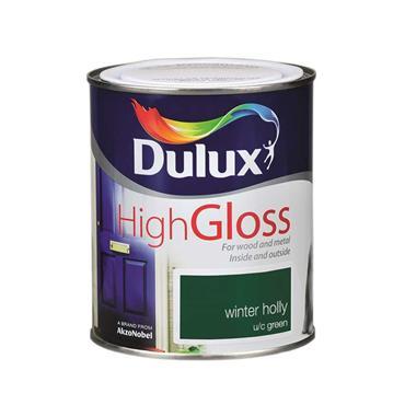 Dulux 750ml High Gloss - Winter Holly   5083951