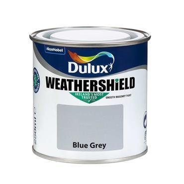 Dulux 250ml Weathershield Masonry Tester Pot - Blue Grey | 5084579