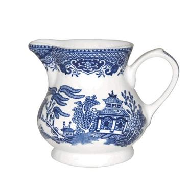 WILLOW CREAM JUG 230ML -CHURCHILL