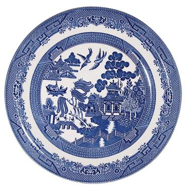 WILLOW DINNER PLATE 26CM - CHURCHILL