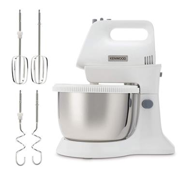 Kenwood Chefette Lite Stand Mixer with 3.4 Litre Metal Bowl - White | HMP34.A0WH