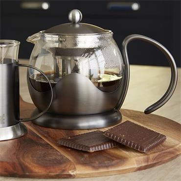 La Cafetiere Edited Gun Metal Grey 2 Cup Le Teapot | 5233025