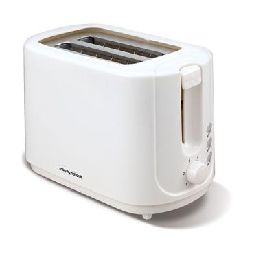 Morphy Richards 2 Slice Toaster White | 980505