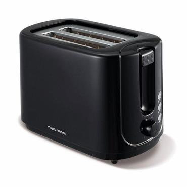 MORPHY RICHARDS 2 SLICE TOASTER BLACK | 980506