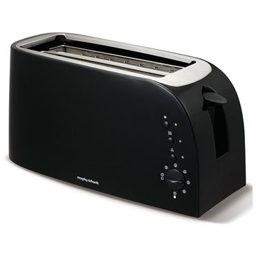 Morphy Richards Essentials 4 Slice Toaster Black l 980508
