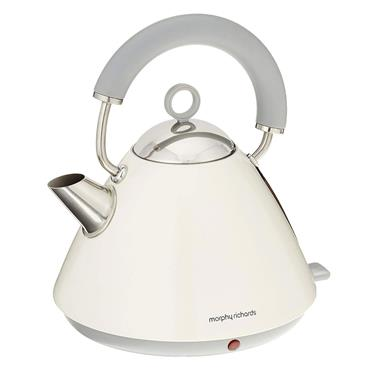 Morphy Richards 1.5 litre Pyramid Accents Kettle Off White | 102031