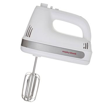Morphy Richards Hand Mixer - White/Silver   980527