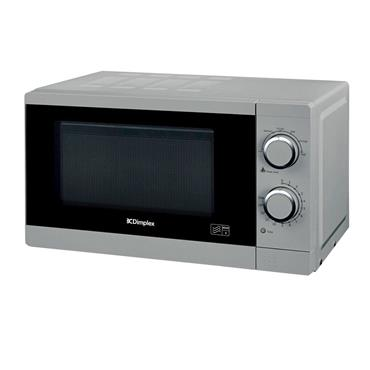 DIMPLEX 20 LTR 800W SILVER MICROWAVE