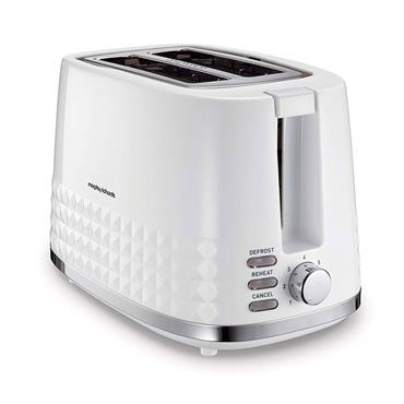 Morphy Richards Dimensions 2 Slice Toaster White | 220023