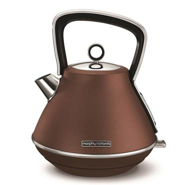 Morphy Richards 1.5 litre Evoke Bronze Special Edition Pyramid Kettle | 100101