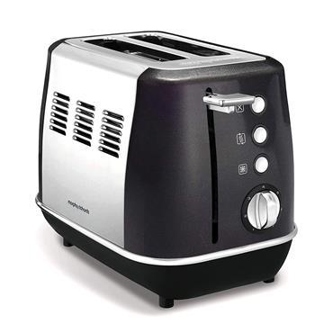 Morphy Richards Evoke 2 Slice Toaster - Black   224405