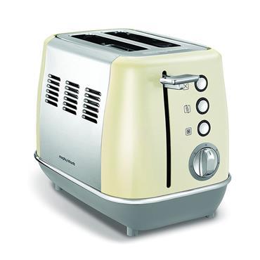 Morphy Richards Evoke 2 Slice Toaster - Cream | 224407