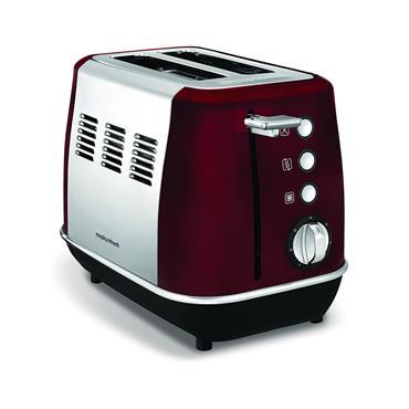 Morphy Richards Evoke 2 Slice Toaster - Red   224408