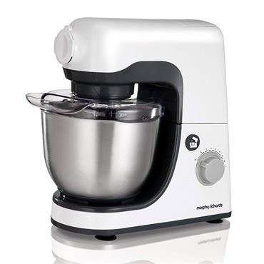 Morphy Richards 4 litre 800w Stand Mixer White Grey | 400023