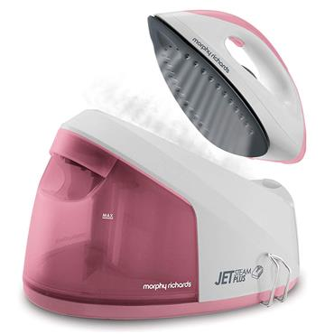 Morphy Richards Jet Steam Plus Pink Compact Steam Generator | 333101