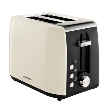 Morphy Richards Equip 2 Slice Toaster cream | 222059
