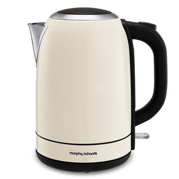 Morphy Richards Equip 1.7 litre Cream Jug Kettle | 102781