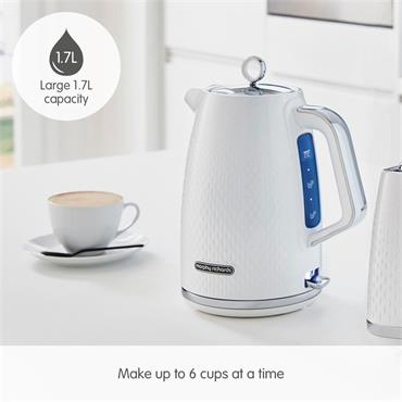 Morphy Richards Verve Kettle 1.7 Litre - White | 103012