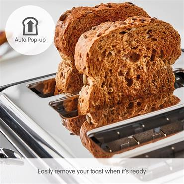 Morphy Richards Verve 4 Slice Toaster - Black | 243010