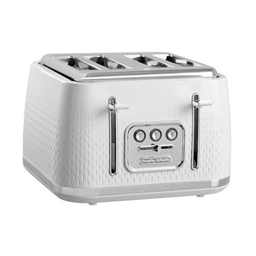 Morphy Richards Verve 4 Slice Toaster - White | 243012
