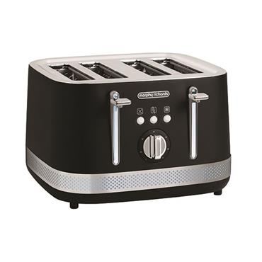 Morphy Richards Illumination 4 Slice Toaster - Black | 248020