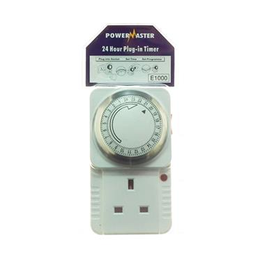 Powermaster 24 Hour Plug in Timer | 1394-20