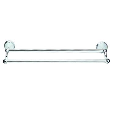 CROYDEX WEST DOUBLE TOWEL RAIL