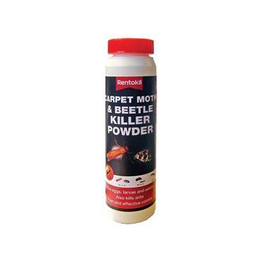 Rentokill Carpet Moth & Beetle Killer Powder 150g