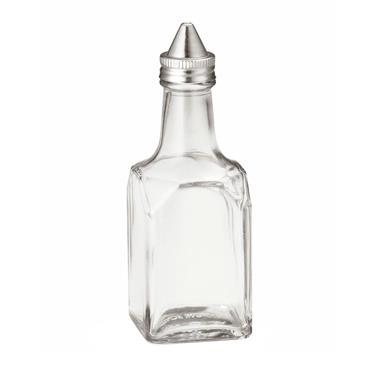 GLASS VINEGAR BOTTLE WITH STEEL LID