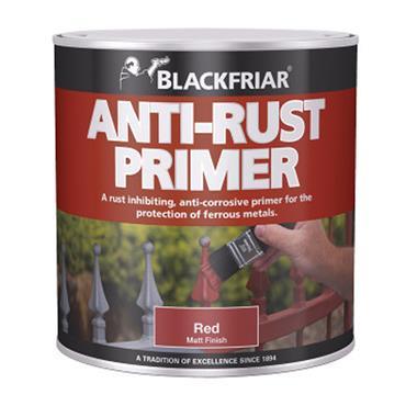 Blackfriar Anti Rust Primer 1 Litre - Matt Red | BF330046
