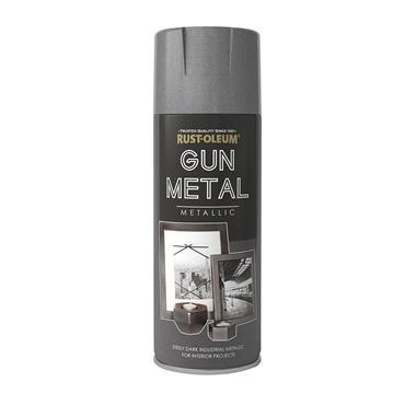 Rustoleum Elegant Gun Metal Grey Metallic 400ml | PTOU229