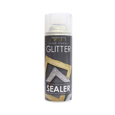 Rustoleum 400ml Super Sparkly Glitter Spray Paint - Clear Sealer | PTOU235