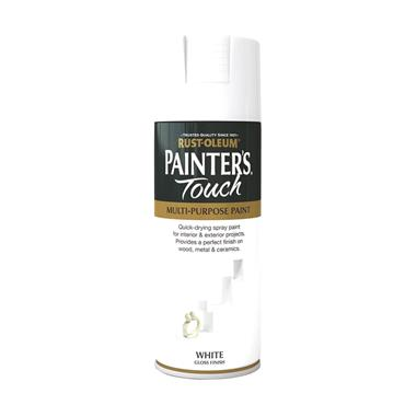 Rustoleum Painters Touch Multi-Purpose Spray Paint 400ml - Gloss White | PTOU003