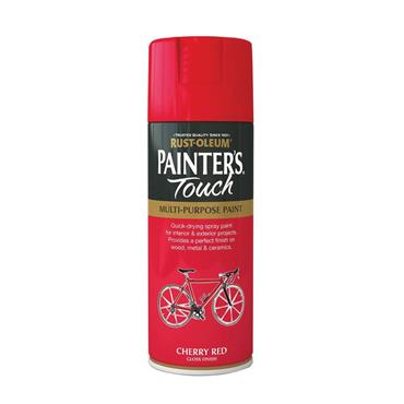 Rustoleum Painters Touch Multi-Purpose Spray Paint 400ml - Cherry Red | PTOU014