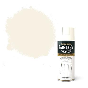 Rustoleum Painters Touch Multi-Purpose Spray Paint 400ml - Ivory Bisque | PTOU023