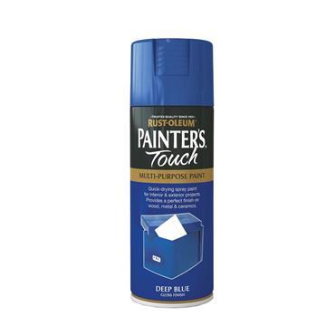 Rustoleum Painters Touch Multi-Purpose Spray Paint 400ml - Deep Blue | PTOU039