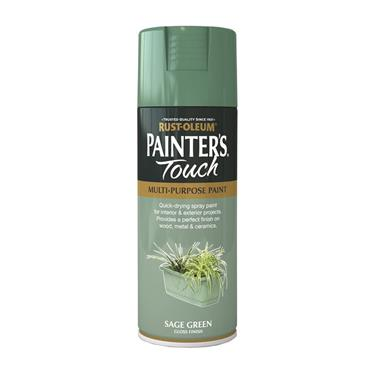 Rustoleum Painters Touch Multi-Purpose Spray Paint 400ml - Sage Green | PTOU046