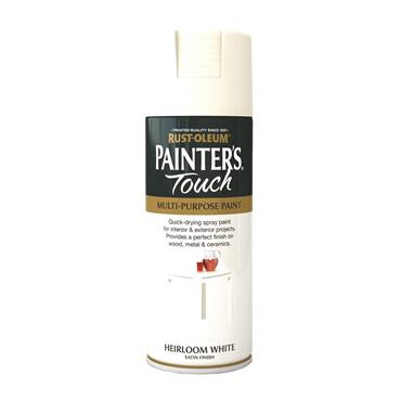 Rustoleum Painters Touch Multi-Purpose Spray Paint 400ml - Heirloom White | PTOU091