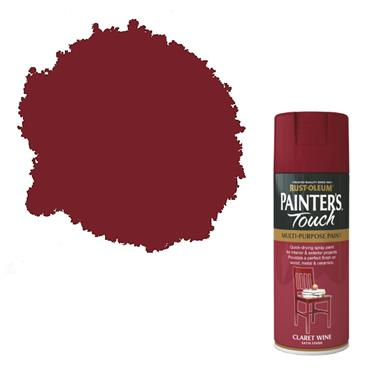 Rustoleum Painters Touch Multi-Purpose Spray Paint 400ml - Claret Wine | PTOU094