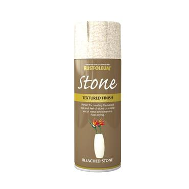 Rustoleum Textured Spray Paint 400ml - Bleached Stone | PTOU032
