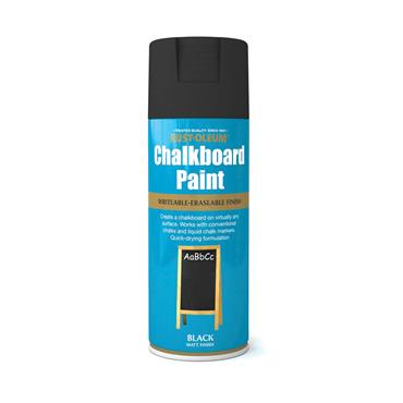 Rustoleum Chalkboard Paint Spray Paint 400ml Matt Black