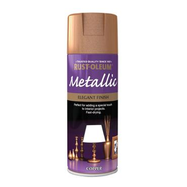 Rustoleum Copper Effect Metallic Spray Paint 400ml - Copper | PTOU028