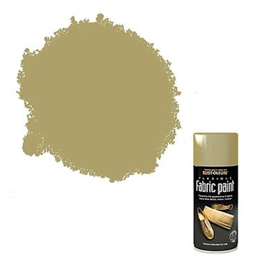 Rustoleum Fabric Multi Surface Spray Paint 150ml - Gold | PTOU324