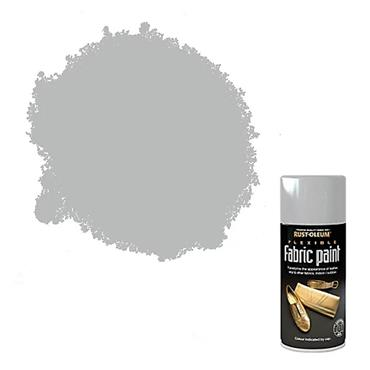 Rustoleum Fabric Multi Surface Spray Paint 150ml - Silver | PTOU325