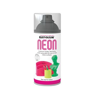 Rustoleum Neon Effect Spray Paint 150ml - Satin Pink | PTOU309