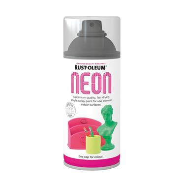 Rustoleum Neon Effect Spray Paint 150ml - Satin Green | PTOU311