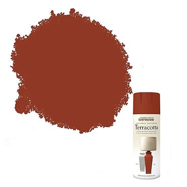 Rustoleum Textured Spray Paint 400ml - Terracotta | PTOU223
