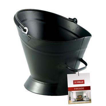 "Sirocco Waterloo Coal Bucket 16"" - Black"